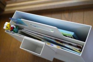 無印 持ち手付きファイルボックス