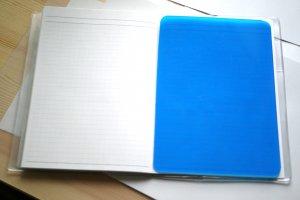手帳 下敷き